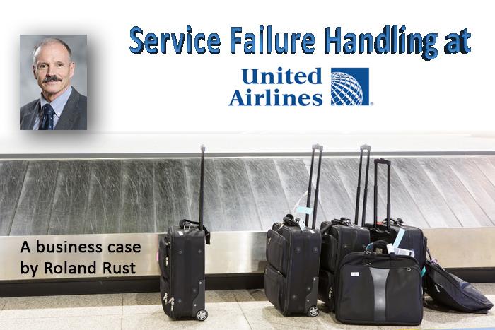 Service Failure Handling at United Airlines – SERVSIG