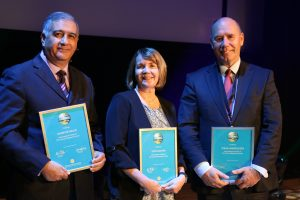 "Professors Ruth Bolton, Arizona State University, USA, Tor W. Wallin, Norwegian School of Economics, and Javier Reynoso, Monterrey Institute of Technology, Mexico, were awarded ""International Fellow of CTF""."